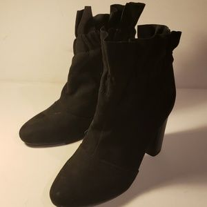 A new day heel boot. Soft feel.